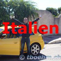 Italien, 06.07 - 09.07.2007